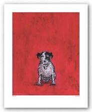 DOG ART PRINT Small Dog Sam Toft