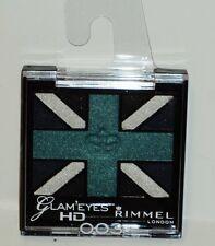 Rimmel Glam Eyes HD Quad Eyeshadow Compact Great Color ROYAL BLUE #003