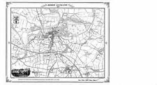Bishop Auckland 1858 Map by Heritage Cartography (Sheet map, folded, 2000)