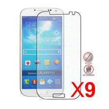 9Packs Anti-Glare (Matte) Screen Protector for the Samsung Galaxy S4 S IV i9500