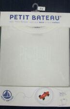 T-shirt blanc Petit Bateau pour garçon de 2 à 16 ans