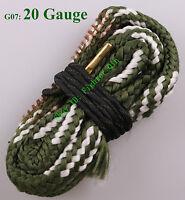New Bore Snake 20 GA Gauge Shotgun Barrel Cleaner Cleaning Kit Rope Boresnake
