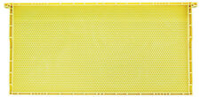 30 Deep Yellow Plastic Frame Beeswax Coated Langstroth Beehive Honey Beekeeping