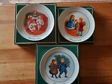 Avon /Christmas Plates/1981,1983,1984.