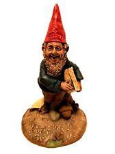 Tom Clark Cairn Gnome Figurine 1984 Crowell Newspapers Acorns 7 inches Tall