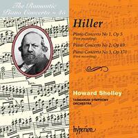 Howard Shelley - The Romantic Piano Concerto Vol 45  Hiller [CD]