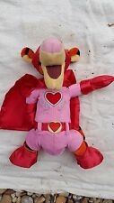 Authentic DISNEY Collectible Tigger Plush 'Super Love' Theme *NEW WITHOUT TAGS*