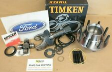 ABS Wheel Hub Outer Shaft U Joint Kit Ford F250 F350 99-04 Timken Free Shipping