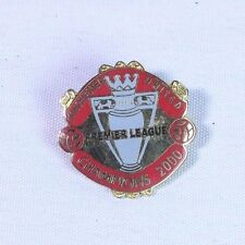 Manchester United Premier League Champions 2000 Football Brooch Pin Badge