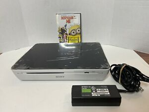 SONY NSZ-GT1 1080p BLU-RAY, INTERNET TV BOX Tested Works No Remote *Free DVD*