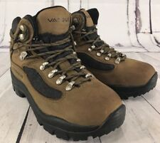 Vasque Women's 7167 Olive Leather Hiking Trail Boots Gore Tex Skywalk US 7.5