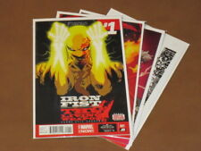 IRON FIST THE LIVING WEAPON #1 - 4 VF/NM COMPLETE RUN DEFENDERS NETFLIX MARVEL