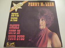 45 Tours PENNY MC LEAN Smoke gets in your eyes , devil eyes 911074