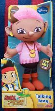 Disney Jake and the Neverland Pirates Talking IZZY Doll NeW Sounds Phrases 3+