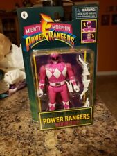 Power Rangers Retro-Morphin Pink Ranger Kimberly Fliphead Action Figure Retro