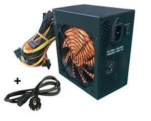ATX PC Netzteil 700W Schwarz/Orange