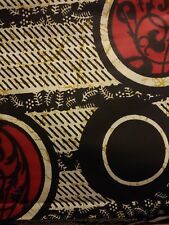 African wax print fabric by the yard