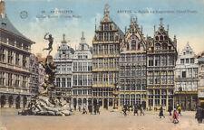 R178913 Antwerpen. Gilden Huizen. Anvers. Maison des Corporations. Grand Place.