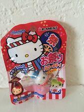 Japan Sanrio Hello Kitty & Festival Mascot Hellokitty Re-Ment Cell Phone Strap