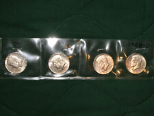"""FOUR 1967 JFK 40% SILVER HALF DOLLARS … GRADE """"ABOUT UNCIRCULATED"""