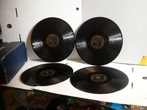 Al Jolson 10 Inch 78 Records By 4