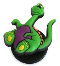 Purple Dinosaurs Authentic Jibbitz Crocs Shoe Bracelet Wristband Charm