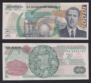 Mexico 10000 pesos 1989 FDS/UNC  C-07