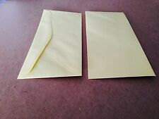 50 Canary Yellow  # 10 business size Envelopes by Domtar