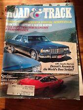 Road and Track Magazine November 1976 Lotus Sprint Pontiac Bonneville Snow Tires
