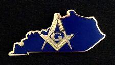 Masonic Kentucky Lapel Pin (KYM-1)