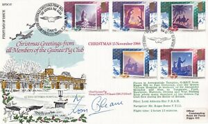 1988 RAF FDC Christmas Signed T Gleave  253 Sqn Battle of Britain Pilot