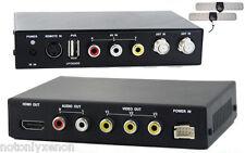 TDT DVB-T COCHE MPEG2 MPEG4 FULLHD CON HDMI 2 ANTENAS TDT DIGITAL RCA USB