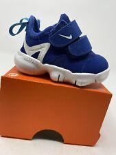 BABY BOYS: Nike Free Run 5.0 Shoes, Royal Blue - Size 2C AR4146-401