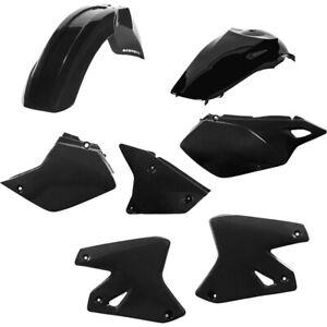 Acerbis MX Suzuki DRZ400 00-21 Black Motocross Dirt Bike Plastics Kits