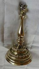 bougeoir candlestick bec de gaz bronze*