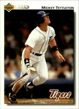 A2222- 1992 Upper Deck BB Card #s 251-500 +Rookies -You Pick- 10+ FREE US SHIP