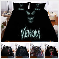 Movie 3D Venom Bedding Set Duvet Cover Pillowcase Quilt/Doona/Comforter Cover