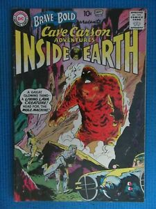 BRAVE AND THE BOLD # 31 - (FN/VF) - 1ST APP OFCAVE CARSON - LIVING LAVA CREATURE