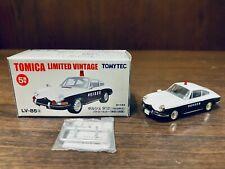 Tomica Limited Vintage Tomytec LV-85a Porsche 912 Kanagawa Prefectural Police