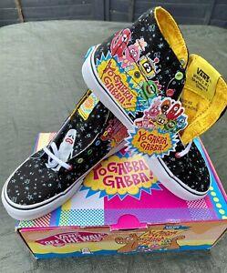 Vans Off The Wall Yo Gabba Gabba High Top Shoes