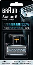 Braun 51S [8000 Series] Replacement Foil/Cutter Fits Series 5 ContourPro