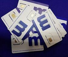 (1) metroPcs Triple Sim Card Fits: Nano+Micro+Regular