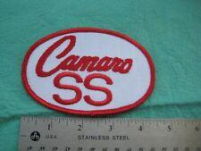 Vintage Camaro SS Racing Team Service Dealer Uniform  Patch