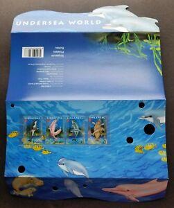 [SJ] Singapore Undersea World 2006 Marine Dugong Dolphin Coral (p.pack) MNH