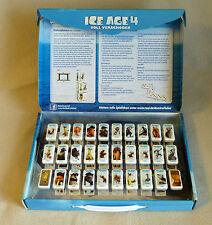 Real Ice Age 4 Domino Fieber komplett im Koffer, Sammelbeutel und Filmplakat