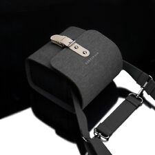 GARIZ 2017 Binalpath Canvas Camera Bag Small CB-NCSGR Grey for Sony Canon Fuji