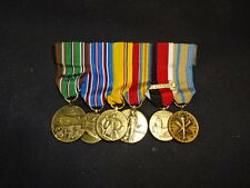 Military Miniature Medal LOT Germany Army Of Occupation American Campaign