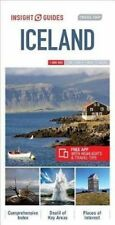 Insight Guides Travel Map Iceland, NEW