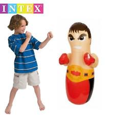 Inflable Boxer 86 cm 3D Bolsa De Boxeo Punch Bop Niños Para Exterior E Interior Juego Juguete 44672