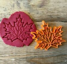 Maple Leaf cookie cutter/ biscuit cutter, National Symbol of Canada, Flag